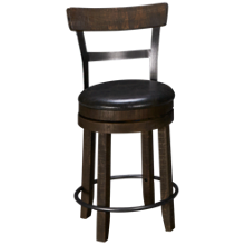 "Sunny Designs Harry 24"" Swivel Counter Stool"