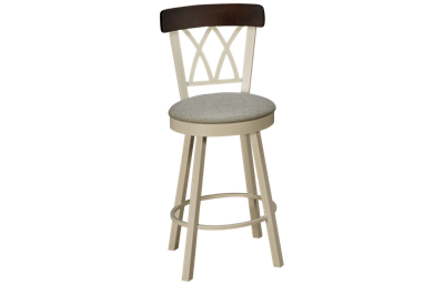 Amisco Brittany Swivel Counter Stool