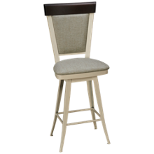 Amisco Eleanor Swivel Counter Stool