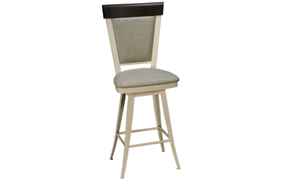 "Amisco Eleanor 26"" Swivel Stool"