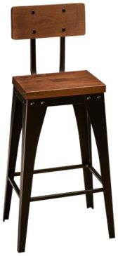 Amisco Alex Non Swivel Stool