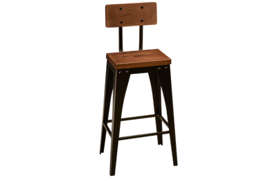 Amisco Alex Non Swivel Counter Stool