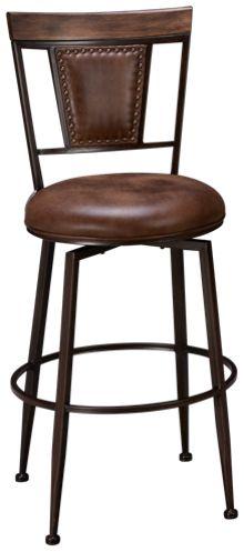 "Hillsdale Furniture Danforth 30"" Swivel Bar Stool"