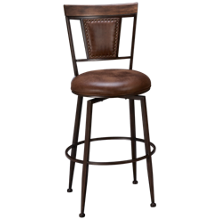 Hillsdale Furniture Danforth Swivel Bar Stool