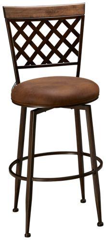 Hillsdale Furniture Greenfield Swivel Bar Stool