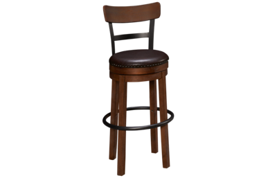 Ashley Pinnadel Swivel Barstool