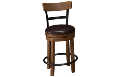 "Ashley Pinnadel 24"" Swivel Barstool"