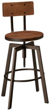 Amisco Alex Swivel Stool