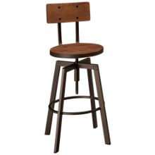 Amisco Alex Swivel Counter Stool