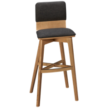 Canadel Downtown Swivel Bar Stool