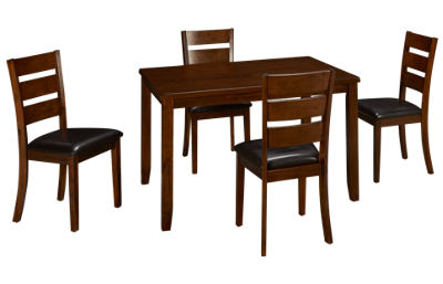 Jofran Plantation 5 Piece Dining Set