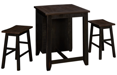Jofran Madison County 3 Piece Counter Height Dining