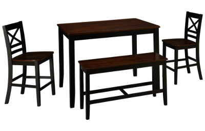 Jofran Asbury Park Table 4 Piece Counter Height