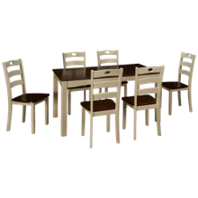 Ashley Woodanville 7 Piece Dining Set