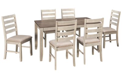Ashley Skempton 7 Piece Dining Set