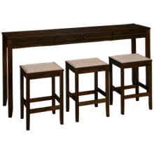 Ashley Rokane 4 Piece Counter Height Dining Set