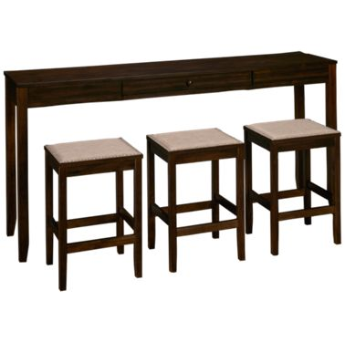 Surprising Ashley Rokane 4 Piece Counter Height Dining Set Cjindustries Chair Design For Home Cjindustriesco