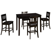 Jofran Prairie 5 Piece Counter Height Dining Set