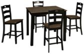 Ashley  Froshburg 5 Piece Counter Height Dining Set