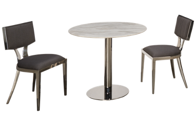 Chintaly Imports Noemi 3 Piece Dining Set