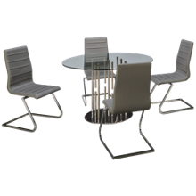 Chintaly Imports Alexander 5 Piece Dining Set
