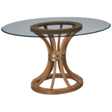 "Bassett Mirror Sheffield 54"" Round Table"