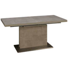 """Chintaly Imports Kalinda Rectangle Table with (1) 23.5"""" Leaf"""