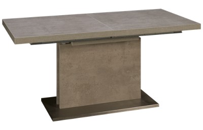 "Chintaly Imports Kalinda Rectangle Table with (1) 23.5"" Leaf"