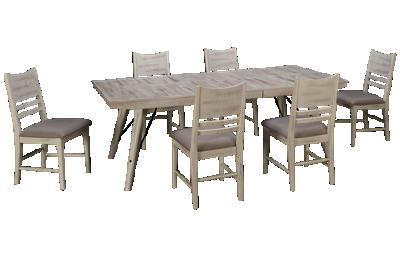 Intercon Modern Rustic 7 Piece Dining Set