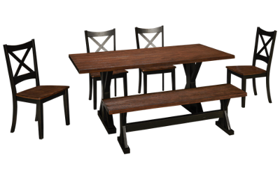 United Lexington 6 Piece Dining Set