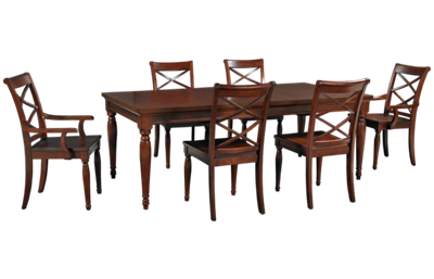 Aspen   Cambridge 7 Piece Dining Set