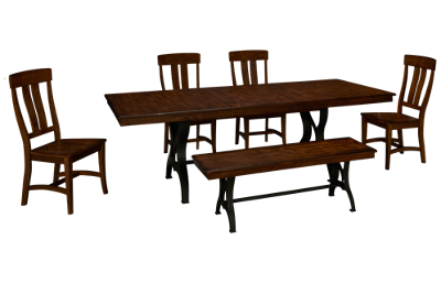 Intercon The District 6 Piece Dining Set