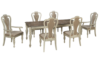 Liberty Furniture Magnolia Manor 7 Piece Dining Set with Leaf
