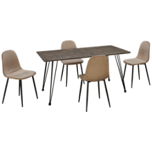 Chintaly Imports Heather 5 Piece Dining Set