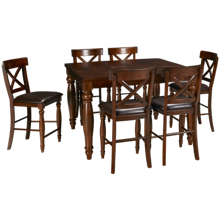 Intercon Kingston 7 Piece Dining Set