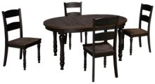 Jofran Madison County 5 Piece Dining Set