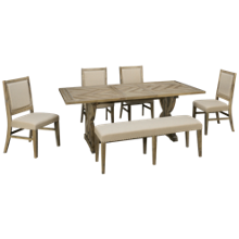 Jofran Fairview 6 Piece Dining Set