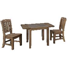Jofran Prescott Park 3 Piece Dining Set
