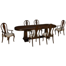 Klaussner Home Furnishings Charleston Lane 7 Piece Dining Set