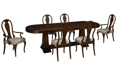 Klaussner Home Furnishings Charleston Lane 7 Piece Dining