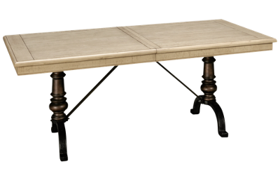 Magnussen Harlow Rectangular Table with Leaf