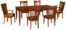 Saloom Redwood 7 Piece Dining Set