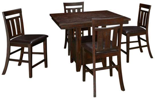 Jofran-Kona Grove-Jofran Kona Grove 5 Piece Dining Set - Jordan\'s ...