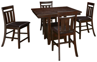 Jofran Kona Grove 5 Piece Dining Set