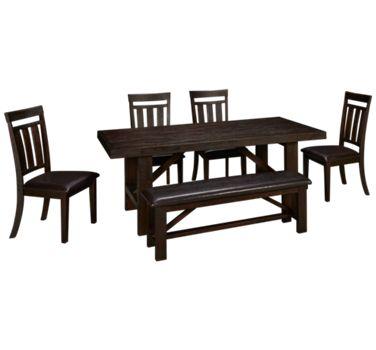 Jofran Kona Grove 6 Piece Dining Set