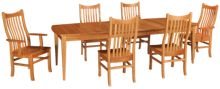Caperton  Portsmouth 7 Piece Dining Set