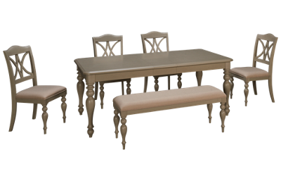 Liberty Furniture Summer House 6 Piece Dining Set with Leaf