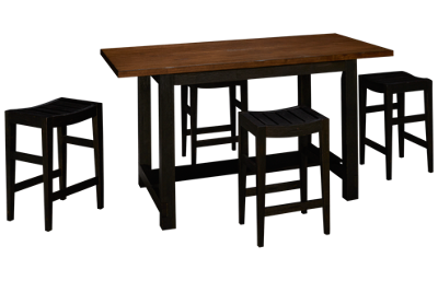 Liberty Furniture Color Nook 5 Piece Dining Set