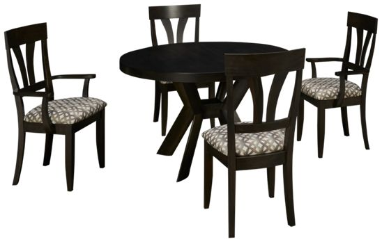 Saloom-Mondo-Saloom Mondo 5 Piece Dining Set - Jordan\'s Furniture