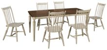 Liberty Furniture Oak Hill 7 Piece Dining Set